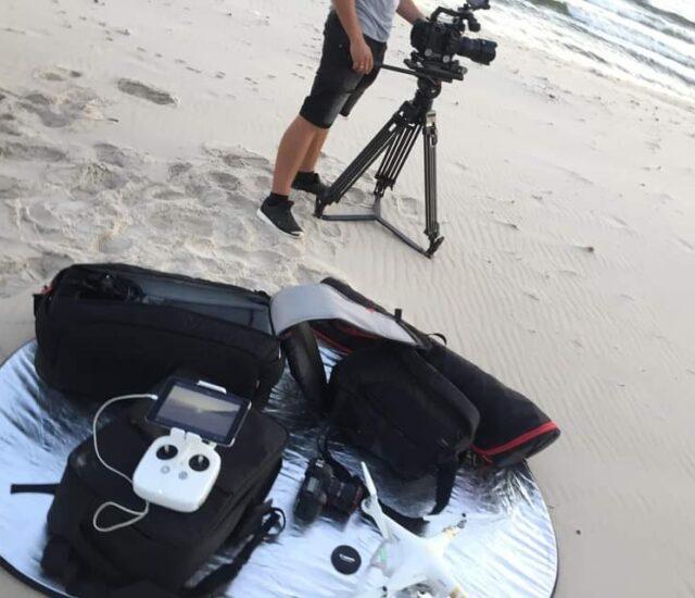 Ujęcia z drona do spotu Pomorza Zachodniego